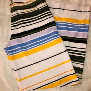 NWT Striped Palazzo Pant by New York and Company